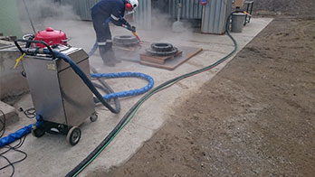 DRY ICE BLASTING-Co2 CLEANING
